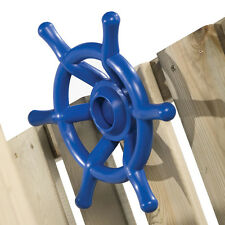 STEERING WHEEL BOAT~BLUE Cubby House Accessories Playground Equipment Fort