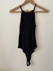 Asos Black High Neck Vest Body Size 10