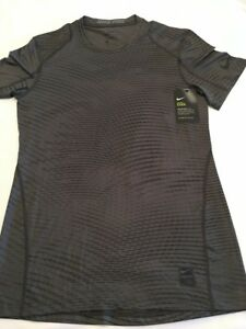 New Nike Men's S L Pro Fitted Training Shirt  838000 038 small large Tee Dri Fit