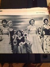 Ephemera 1956 Article Anne Bernard Beauty Pageant  M1215