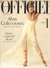 L´OFFICIEL #1 ESPAÑA (SPAIN). Primavera-Verano 92, Vintage, RARE, Gran Estado!