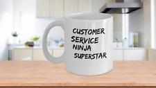 Customer Service Ninja Superstar Mug
