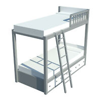 DIY Plans Build Your own Bunk Bed with Storage Fun to Build!!