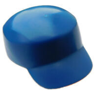 Lego 2 Stück Mütze in blau für Minifigur 11258 Arbeiter Mützen Kappe Hut Neu