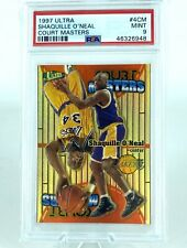 Shaquille O'Neal Ultra Court Masters PSA 9 Mint Card Shaq Lakers Fleer Pop 5
