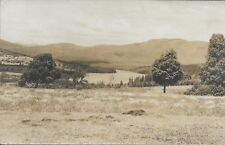 Dodge Pond from the Mingo Springs Golf Course Rangeley ME Real Photo RPPC 1936