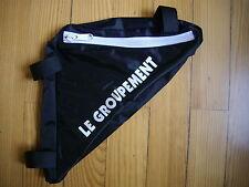 Sacoche de cadre noire VTT vélo route course bidon cyclisme cycliste maillot