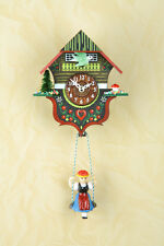 Schaukeluhr Swinging Doll clock cuckoo Black Forest Made in Germany 2012sq