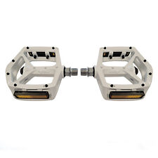 "Wellgo MG-3 Magnesium MTB Mountain Road Bike 9/16"" Platform Pedals - White"
