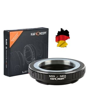 K&F Adapter M39 Lens On Sony NEX A7 A7S A7R II E Mount M39 Nex