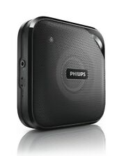 Philips Bt2500B/37 Compact Wireless Portable Bluetooth Speaker w/charging cable