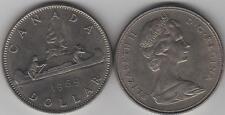 1969 Canada One Dollar Coin. NICE GRADE UNC.