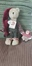 """Boyds Bears """"Mindy P. Elfbeary"""" 9"""" Plush Bear Tj's Dressed Collection Retired"""