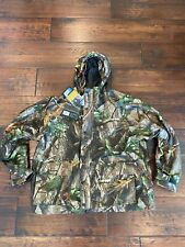 Nwt Red Head Squaltex Rainwear Jacket Realtree Hardwoods Green Hd Size Xl