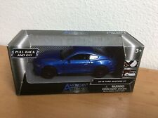 American Legends ~ Motor Max ~ 2018 Blue Ford Mustang GT ~ 1/43 New