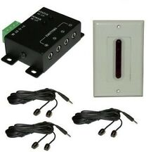 Long Range Remote Control Extender controls 6 devicesup to 80' and 45 degree ang