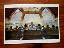 DALI LA CENE LAST SUPPER  carte postale art postcard
