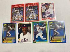 New listing Sammy Sosa 7x 1990 Rookie Card Lot Chicago White Sox