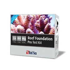 Red Sea Reef Foundation Test Kit Calcium CA KH / Alkalinity and Magnesium Marine