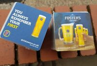 FOSTERS FRIDAY x200 COASTERS BRAND NEW PUB/BAR/MANCAVE