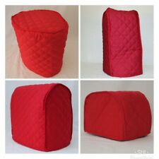 Red Quilted Double Faced Cotton Appliance Cover