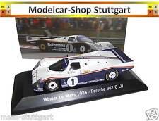 Porsche 962 C LH Winner Le Mans 1986 - Spark 1:43 MAP02028613 fabrikneu