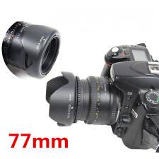 77mm Reversible Petal Flower Lens Hood For Nikon Canon Olympus DSLR Camera