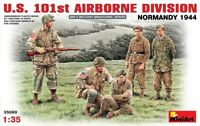 Miniart 35089 U.S. 101st Airborne division, Normandy 1944 Plastic Model Kit 1/35