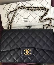 ec62e9643154 Chanel Classic Jumbo Double Flap Navy Caviar with Gold Hardware (100%  Authentic)