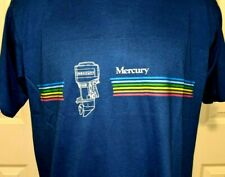 Vtg 80's Mercury Vintage Outboard Motor Shirt Swingster Short sleeve NWOT