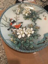 New ListingOne Imperial Jingdezhen collector's plate Two Red Birds