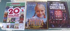 New Lot 3 Childrens Holiday Adventure An Angel Band Christmas Ives Heidi DVD