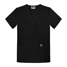 Sivvan Unisex V-Neck 3 Pocket Scrub Top Available in 15 Colors