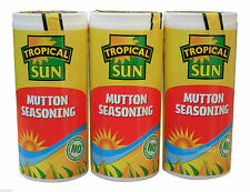 3 x Tropical Sun Mutton Seasoning 100g - Jamaican Caribbean style Curry Mutton