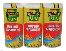 3 X Tropical Sun Mutton Seasoning 100g - Jamaican Caribbean Style Curry Mutton