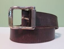 Leather Distressed Belt Size 34