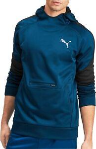 Puma evoStripe Warm Mens Hoody - Blue