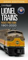 Lionel 2020 Pocket Price Guide Greenberg Brand New Great Resource