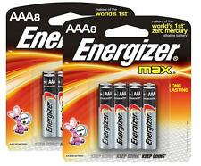 Energizer E92MP8 1.5 V AAA Lithium Batteyr - 8 Count