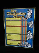 Chore Chart, Christian, My Character Chart, Reusable Laminated Ages 4-7
