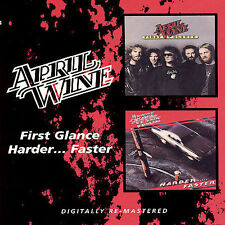 NEW April Wine -  First Glance/HarderFaster (Audio CD)