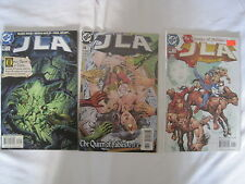"""JLA  : """"The QUEEN of FABLES"""" - COMPLETE SET of 3 by WAID, HITCH & NEARY. DC.2000"""