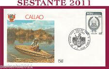 VATICANO FDC NUOVA CAPITOLIUM VISITA GIOVANNI PAOLO II CALLAO PERU 1985 (616)