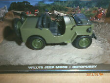 james bond car collection willys jeep m606 . octopussy