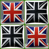 100%Cotton Union Jack/British Flag Design Cushion Cover/sofa case in size 18x18""