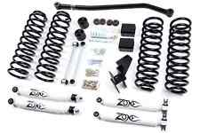 "Zone Offroad J15 Full 4"" Suspension Lift Kit for Jeep Wrangler JK Unlimited 4 Dr"