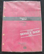 Original 1973 John Deere 830 Tractor Operators Manual Minty Sealed