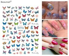 Elegant Butterfly  Manicure Back Glue Decal Decorations Nail Art Sticker