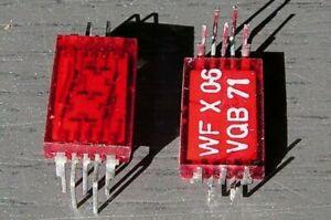 20x WF RFT VQB71 7-SEGMENT LED ANZEIGE NOS OVP