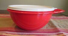 Tupperware MINI  NEW  Thatsa Bowl  1.4 L 6 cups FIRE RED